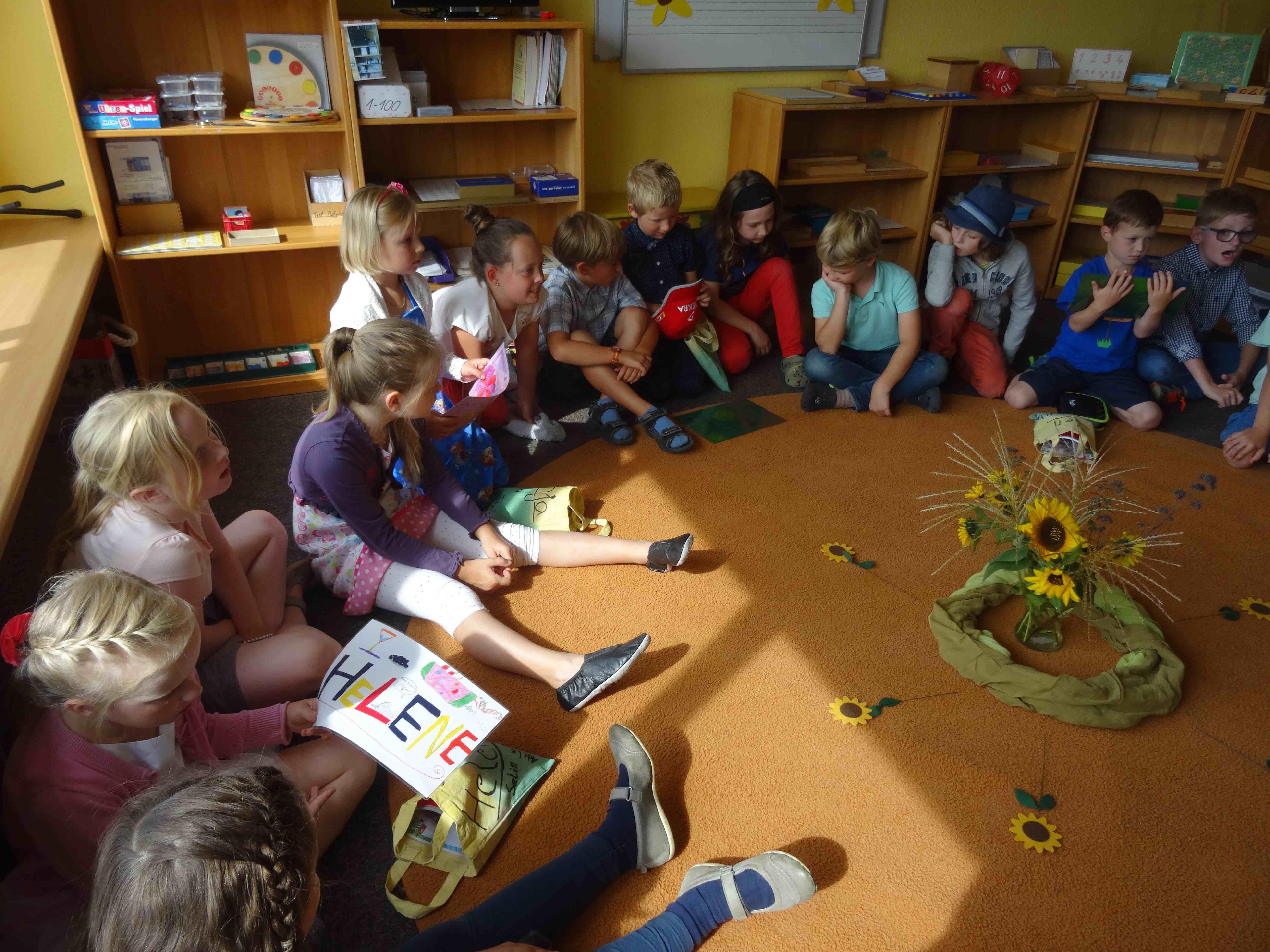 Kennenlernen 1. unterrichtsstunde