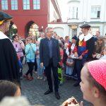trafen sich alle mit dem Oberbürgermeister